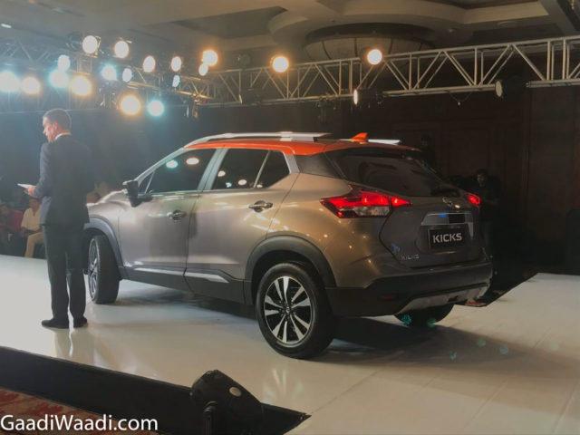 All-New 2019 Nissan kicks SUV Unveiled 3