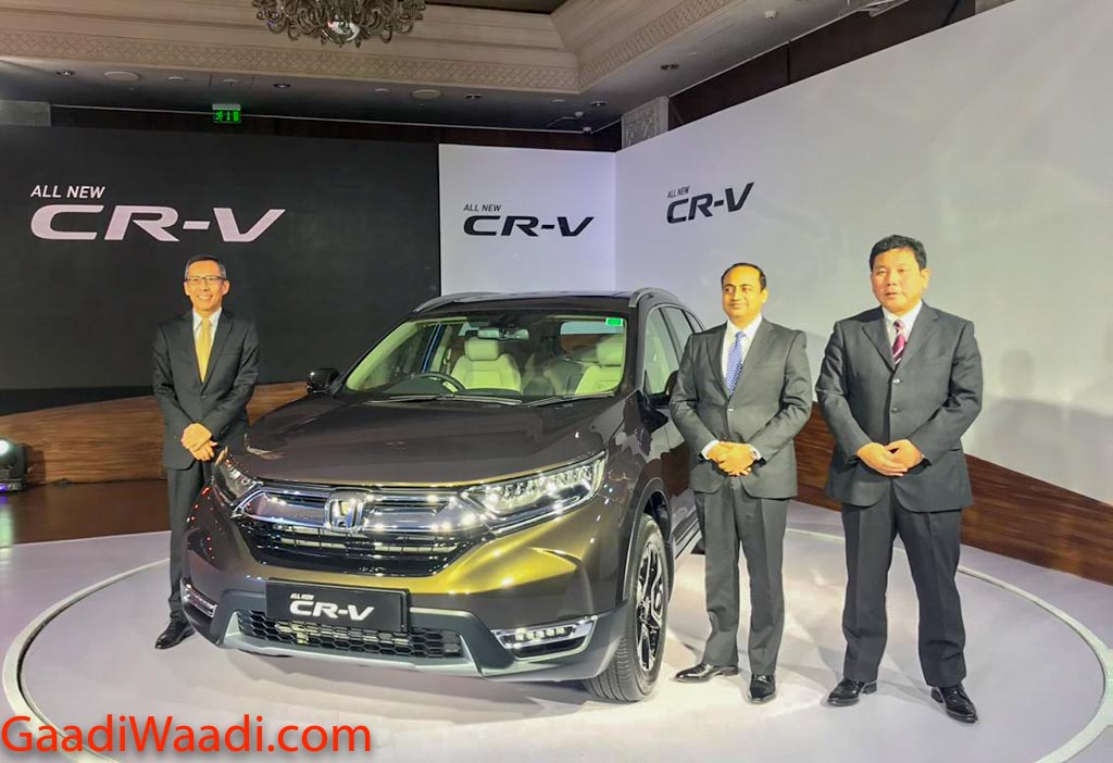 All-New Honda CR-V Launched In India; Prices Start At Rs. 28.15 Lakh