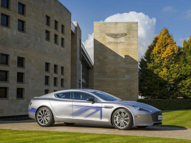 Aston Martin RapidE India