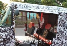 Bajaj-Electric-Three-Wheeler-Spied