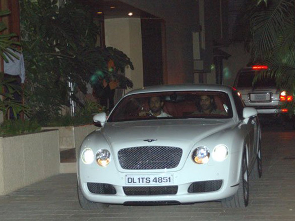 Bentley Continental GT amitabh