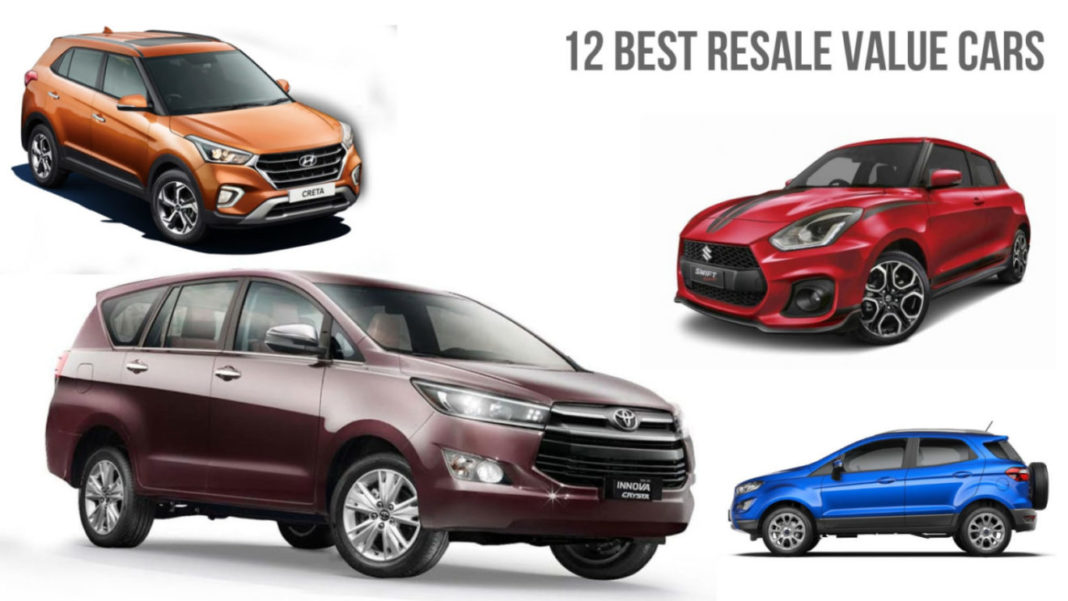 12 Best Resale Value Cars In India Maruti Swift To Toyota Innova Crysta