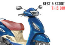Five Best Scooters In India This Diwali - Prices, Specs, Mileage