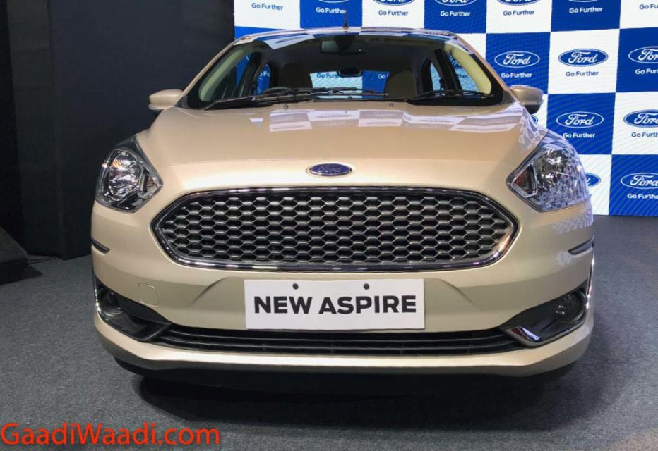 Ford Aspire Facelift Launched In India, Price, Specs, Features, Interior, Mileage 2