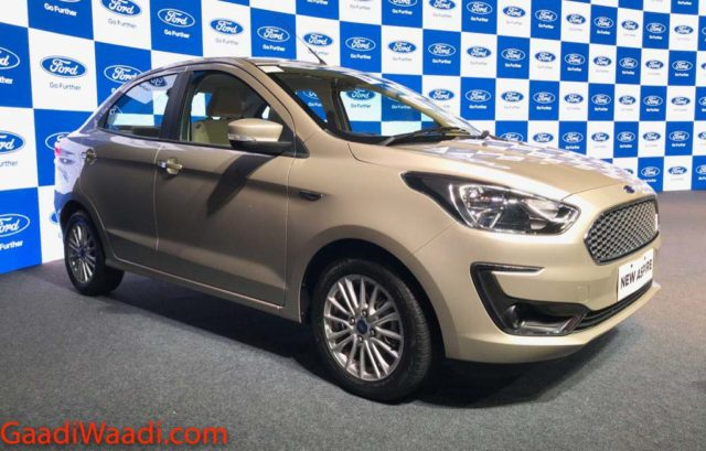 Ford Aspire Facelift Launched In India, Price, Specs, Features, Interior, Mileage 3