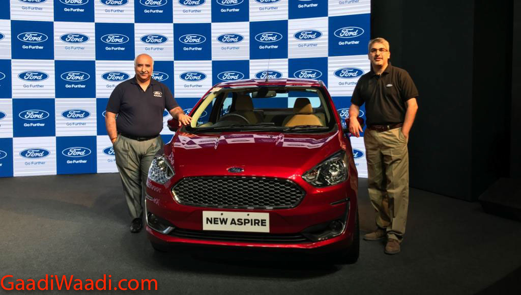 Ford Aspire Facelift Launched In India, Price, Specs, Features, Interior, Mileage