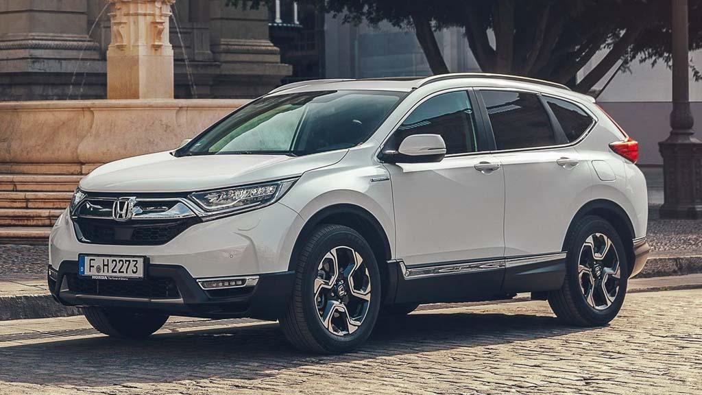 Honda CR-V Hybrid Paris Motor Show 2018 3