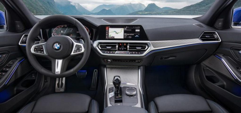India-Bound 2019 BMW 3-Series Interior