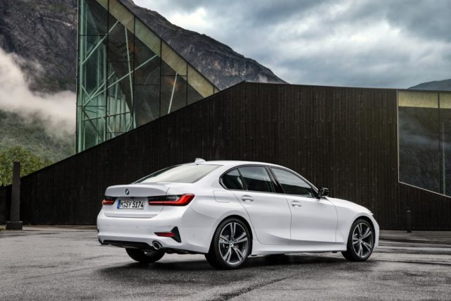 India-Bound 2019 BMW 3-Series Rear
