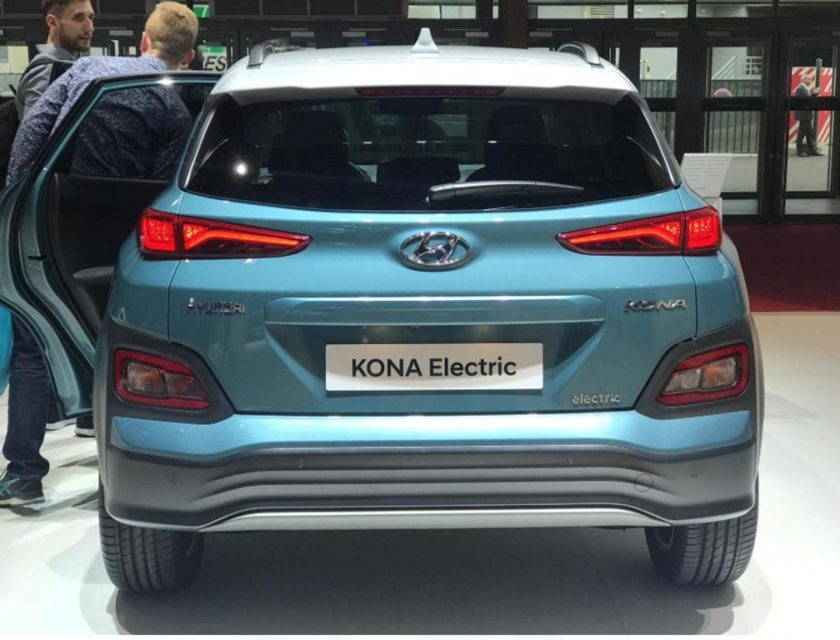 India-Bound Hyundai Kona Electric Displayed At Paris Motor Show 1