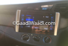 Innova Crysta Gets Touchscreen With Steering Mounted Controls In Base Model 1