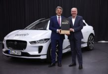 jaguar i-pace 2019 german car of the year