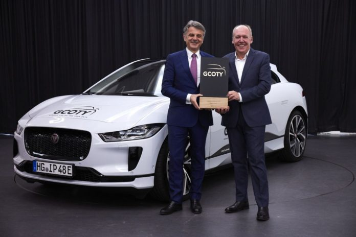 Jaguar I Pace Electric Suv Wins 2019 German Car Of The Year