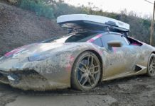 Lamborghini Huracan off road