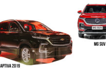 MG Motor's First SUV For India Will Have Similarities With 2019 Chevy Captiva