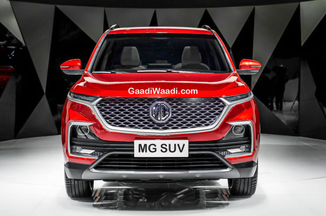Upcoming Mg Premium Suv Spied In India On Test