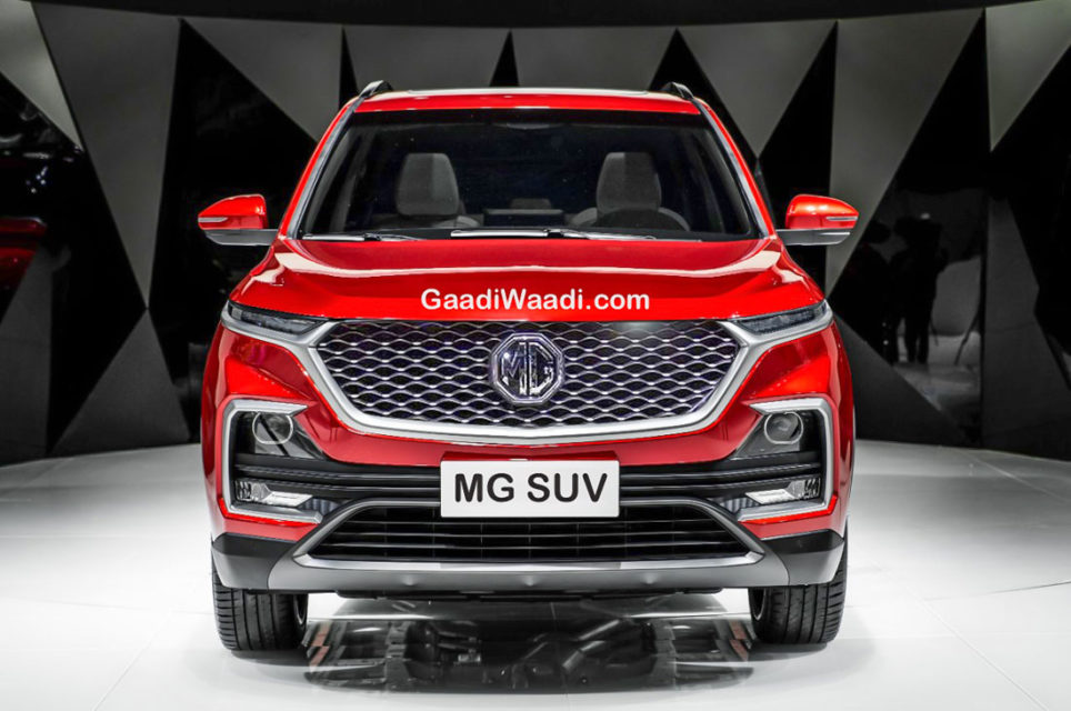 MG SUV (CR-V Rival) india-1