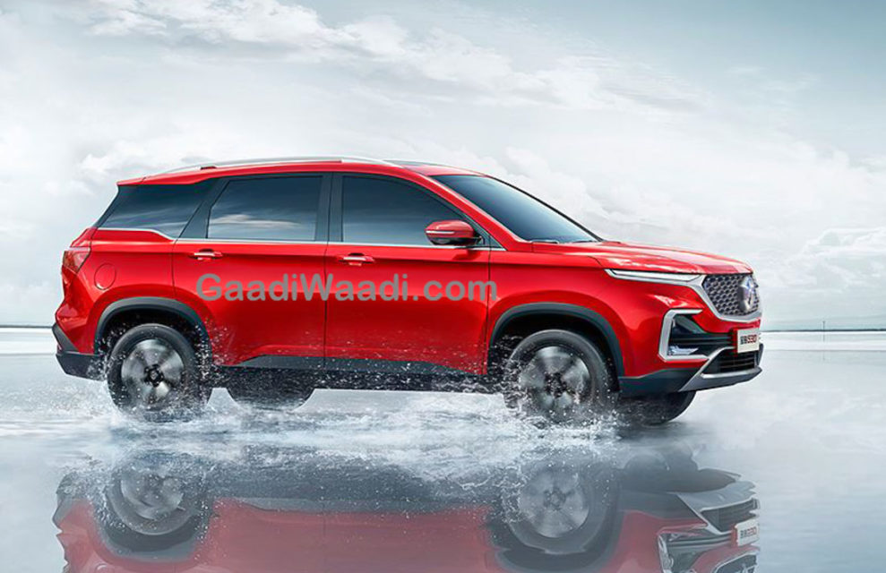 MG SUV (CR-V Rival) india-3