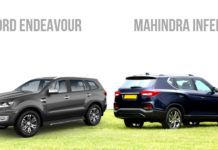 Mahindra Inferno (Y400) VS Ford Endeavour Comparison