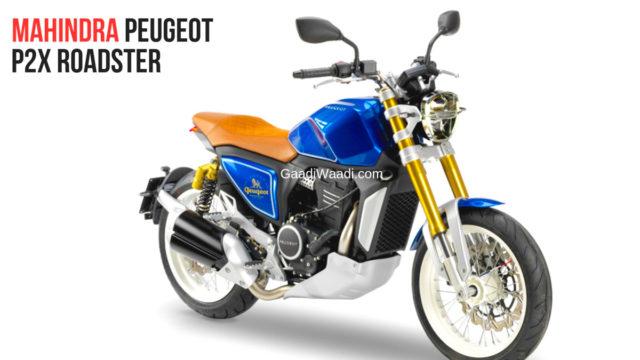 Mahindra Showcased Mojo Based Peugeot P2x Roadster and P2x Café Racer-2