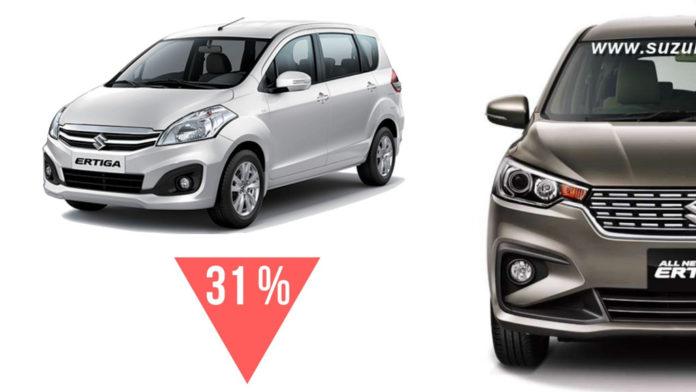 Maruti Suzuki Cuts Ertiga Production Ahead Of 2019 Ertiga's Launch