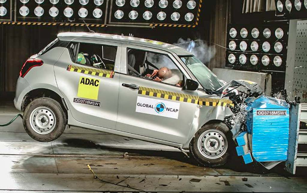 Maruti Suzuki Swift Global NCAP