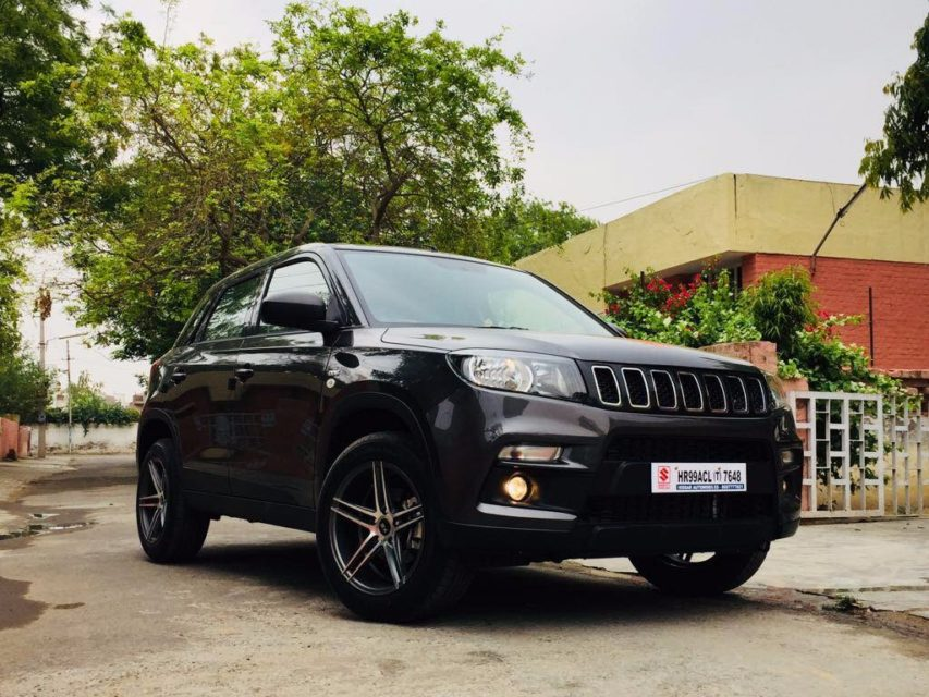 Maruti Vitara Brezza Modified SUVs jeep inspired
