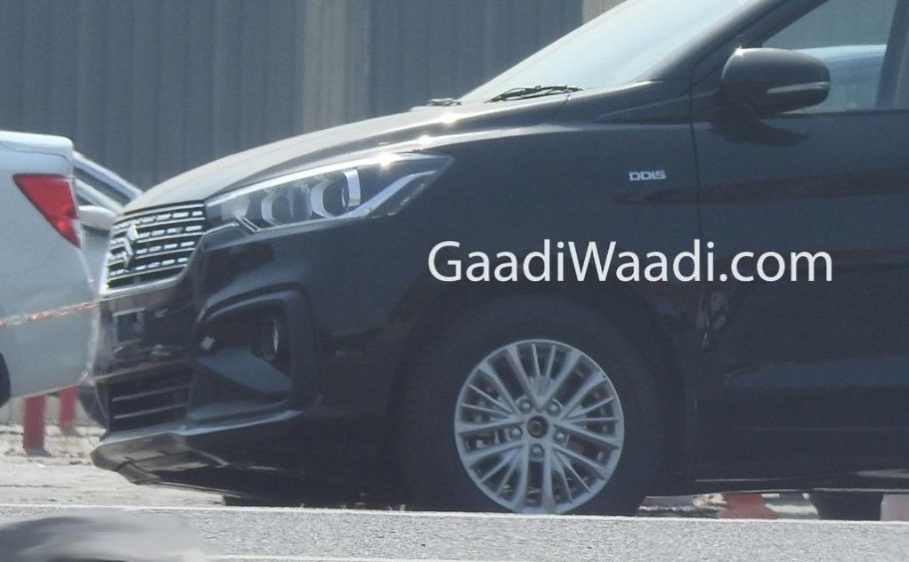 New Maruti Suzuki Ertiga Spotted 1