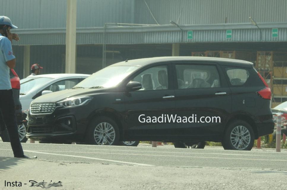 New Maruti Suzuki Ertiga Spotted 2