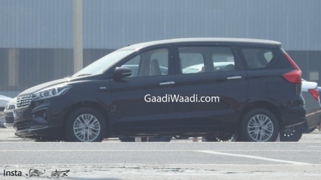 New Maruti Suzuki Ertiga Spotted_