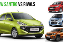 New Santro VS Rivals