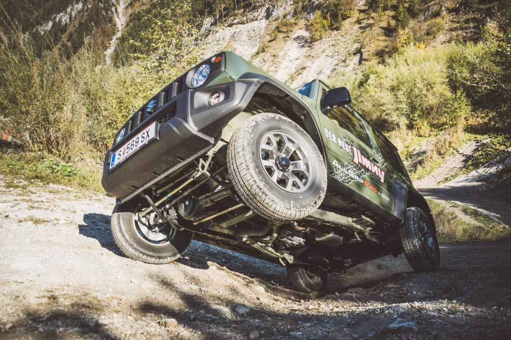 New Suzuki Jimny's Off-Road Prowess Makes It A Global Hit 2
