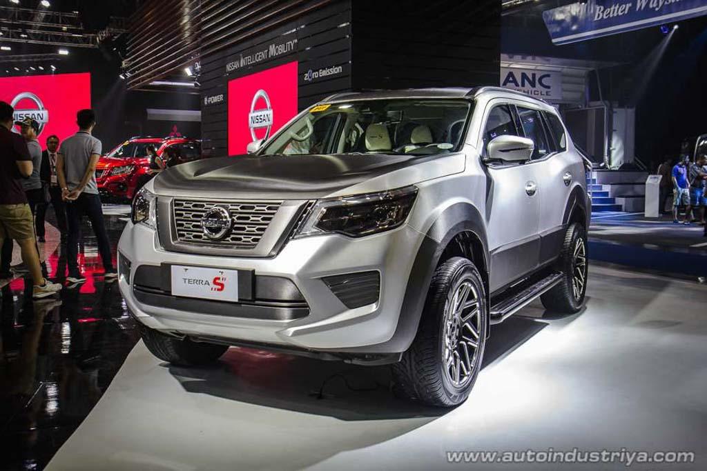 Nissan Terra S Front
