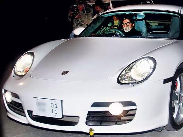 Porsche Cayman bachchan amitabh