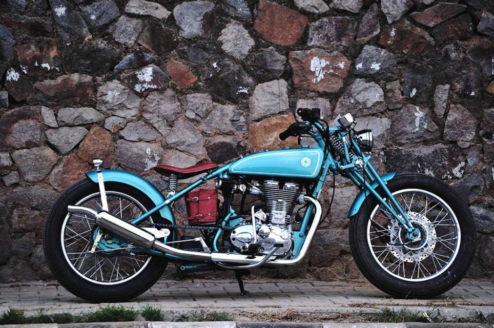 Royal Enfiled Motorcycles Modified Into Beautiful Customs In