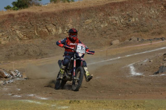 R Nataraj tvs racing 2018 inrc champion
