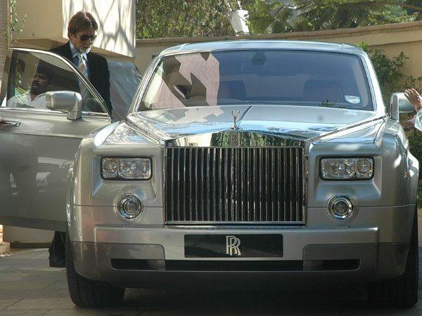Rolls Royce Phantom amitabh bachchan