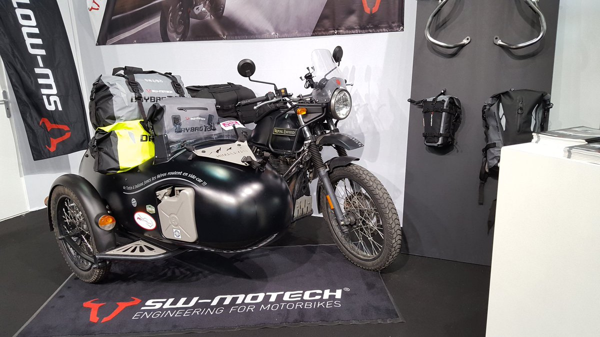 Royal Enfield Himalayan With A Side Car Showcased At Pms