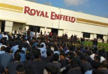 Royal-Enfield worker arrests
