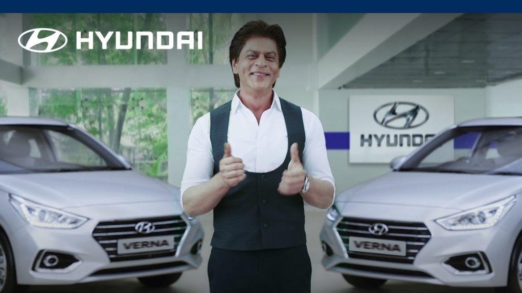 Shahrukh Khan hyundai