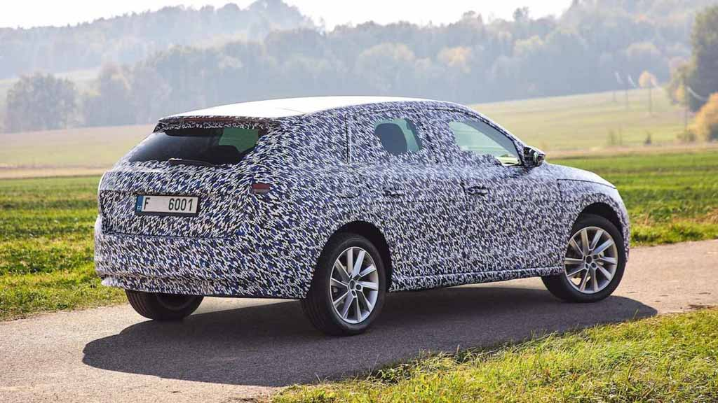 First Official Pictures Of All New Skoda Scala Hatchback Released