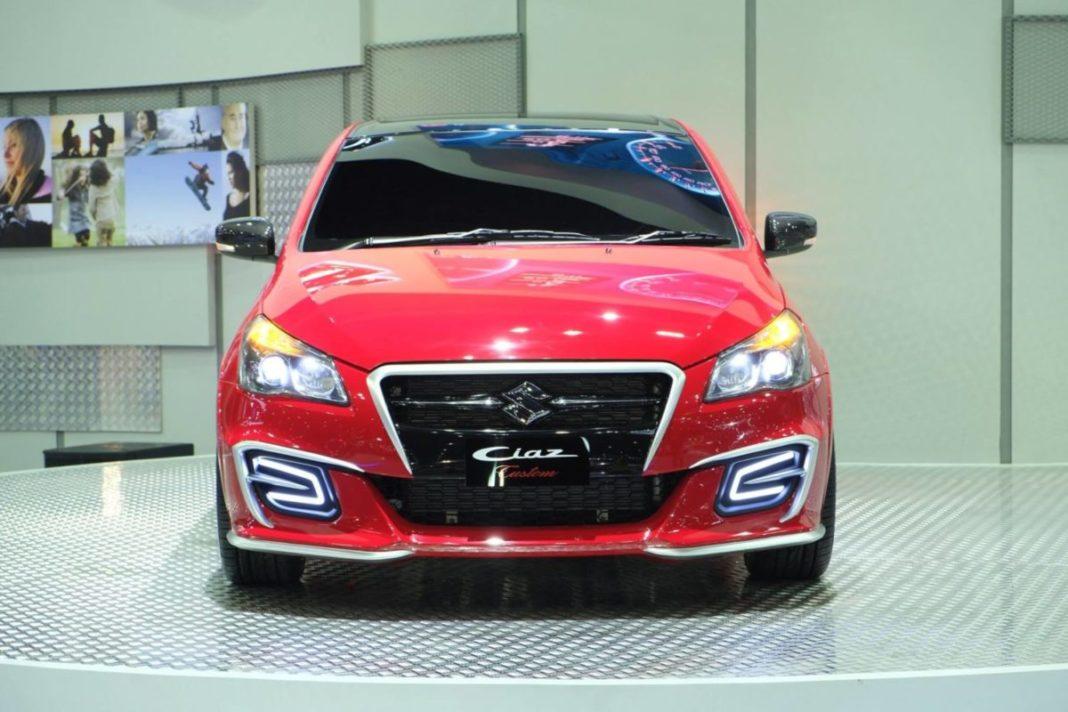 Suzuki-Ciaz-Custom-front-red