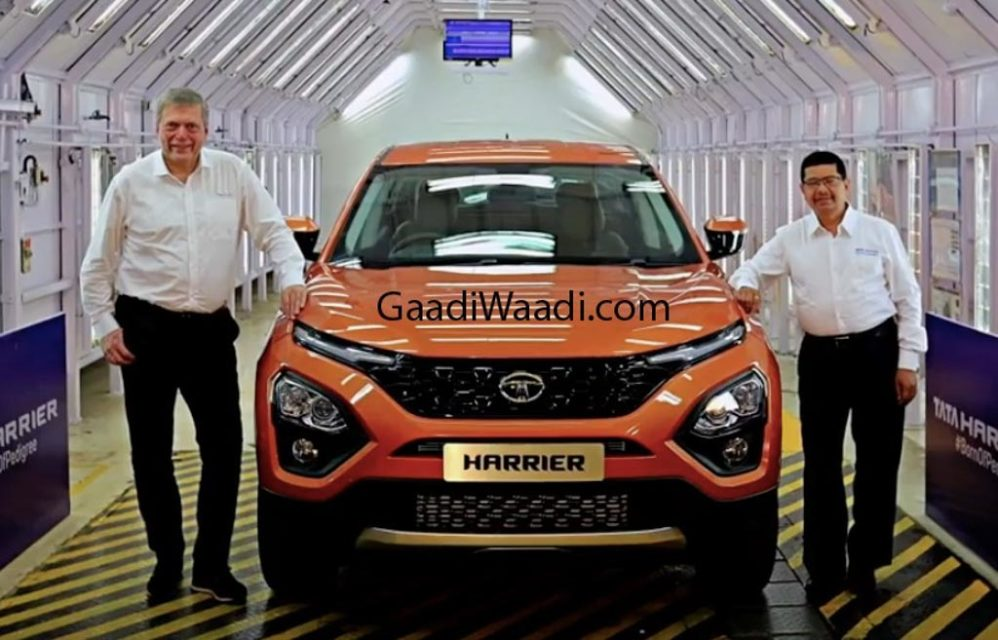 Tata Harrier Production Version 1
