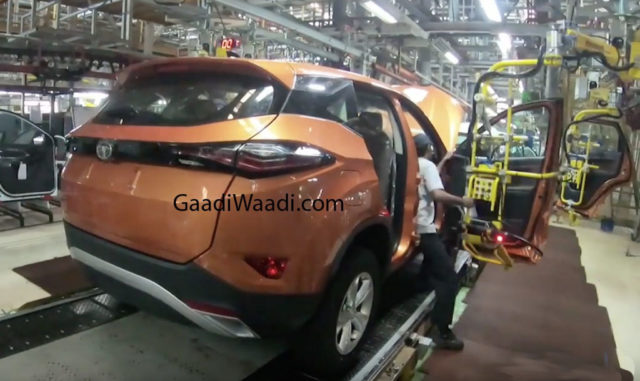 Tata Harrier Production Version_