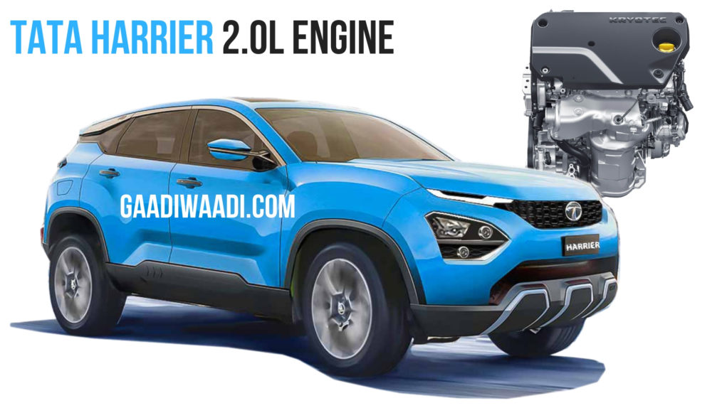Tata Harrier SUV To Be Powered by 2.0-litre Kryotec Diesel Engine