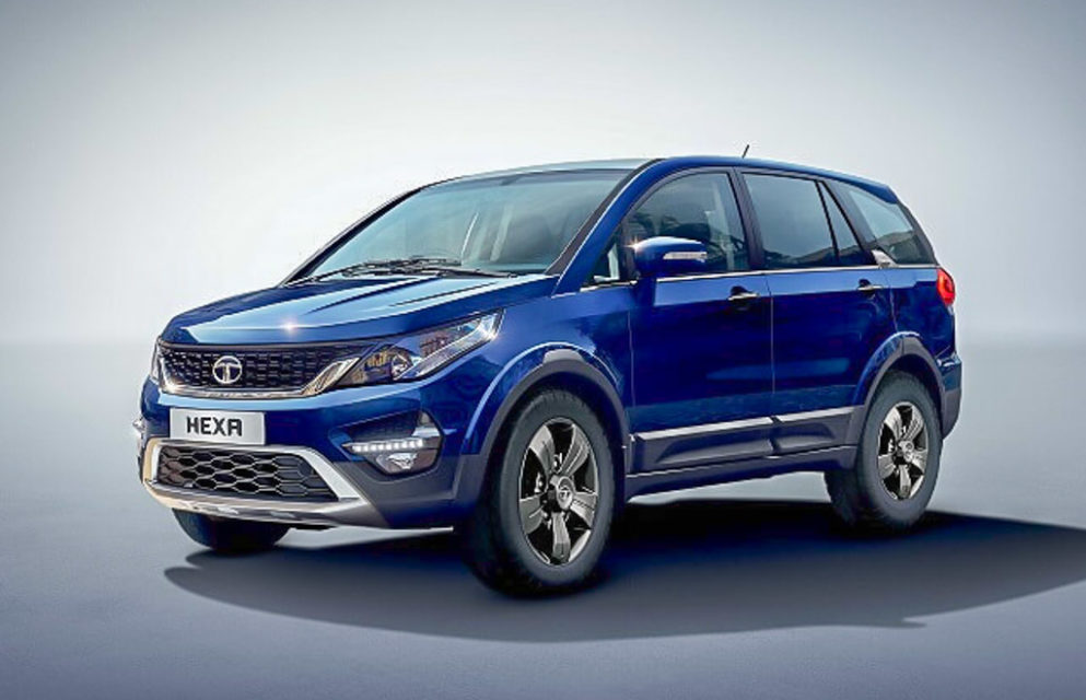 Tata Hexa XM+ Variant Launched With Sunroof; Priced At Rs. 15.27 Lakh 1