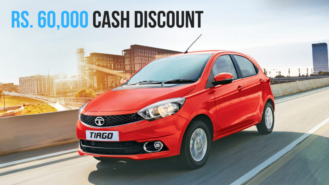 Tata Tiago Available With Discounts Of Rs 60,000