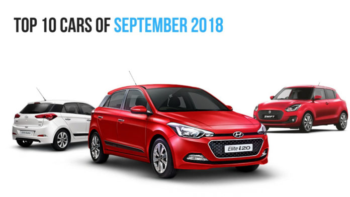 Top 10 Selling Cars In September 2018 In India