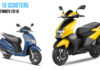 Top 10 Selling Scooters In September 2018 In India