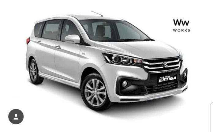 Upcoming Maruti Suzuki Ertiga Rendered In Sporty Avatar